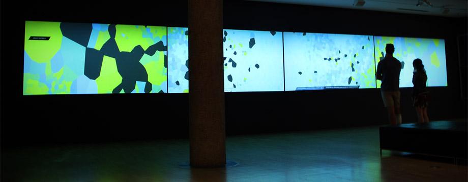 OOM Creative Data Tapestry NGV